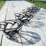 檜垣紋中鉢|Higaki-mon Chuubachi (Medium Cypress-fence-patterned Bowls)
